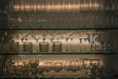 Glasses, tableware