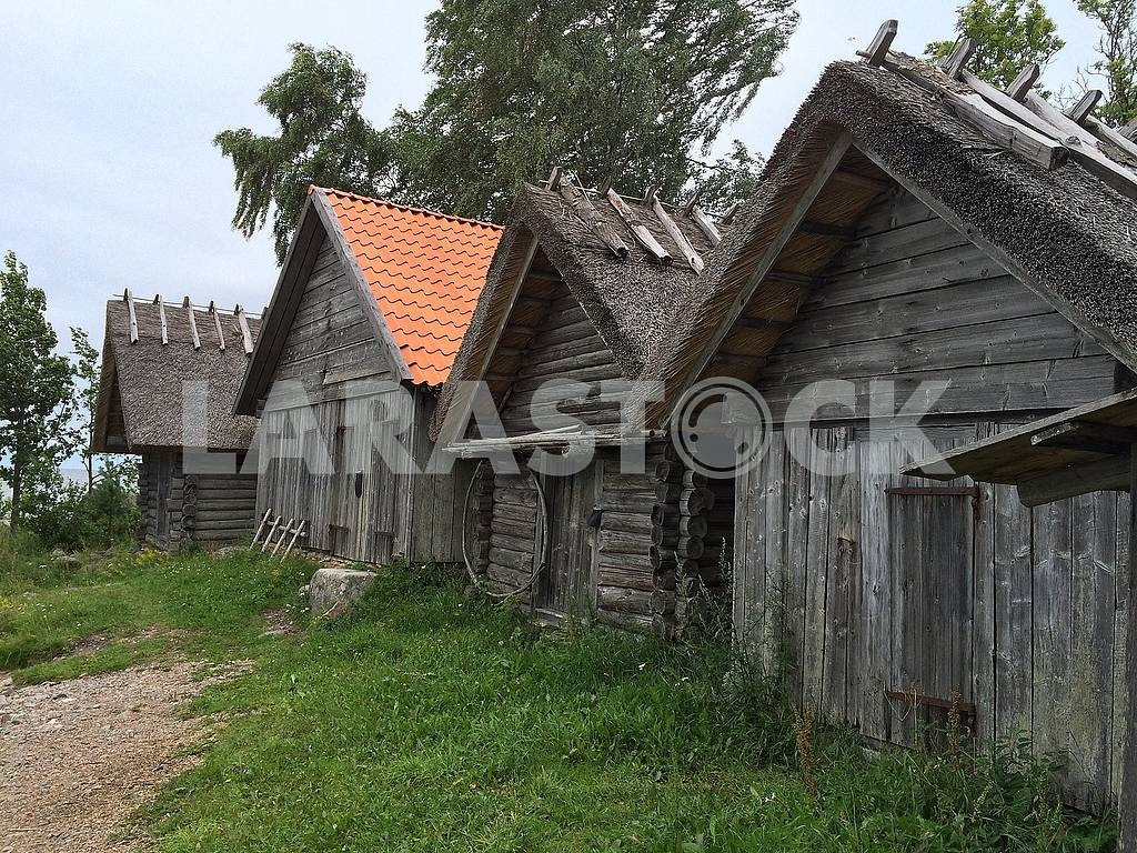 Wooden houses in the Estonian countryside — Image 67325