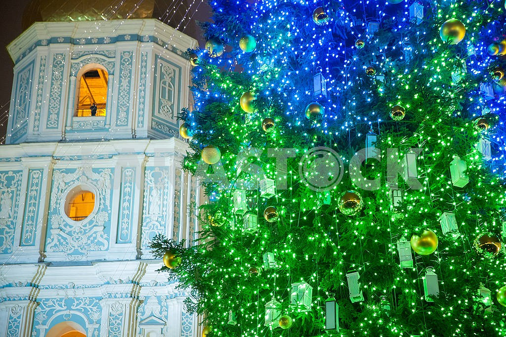 Celebrating the New Year in the center of Kiev on the night from December 31st to January 1st. — Image 67357