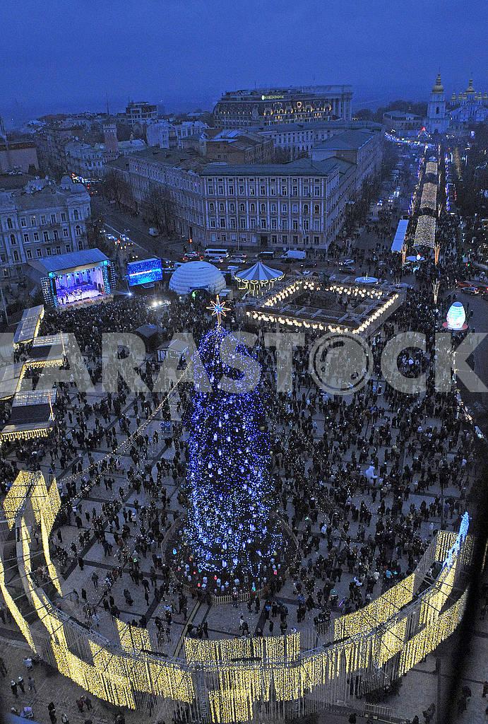 The main Christmas tree in Ukraine — Image 67455