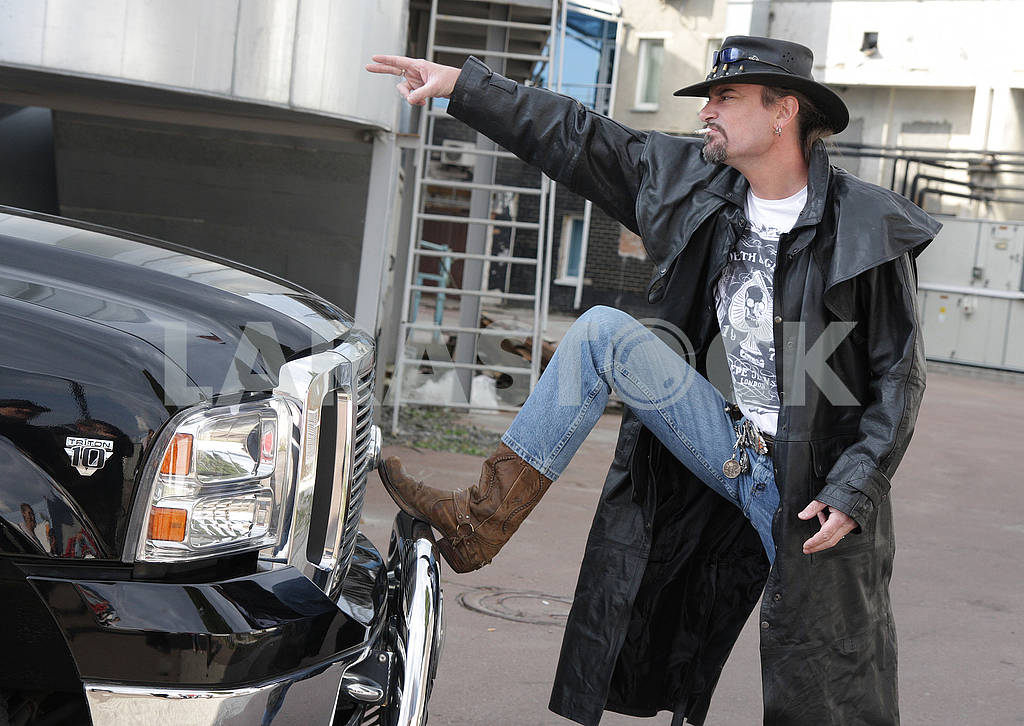 Sean Carr - rock musician, biker — Image 67492
