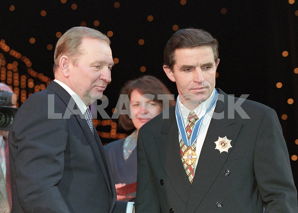 Leonid Kuchma and Leonid Kadenyuk — Image 67816