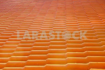 Roof of shingles