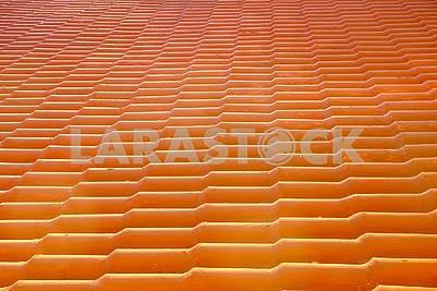 Roof of shingles