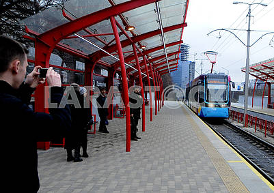 New tram PESA