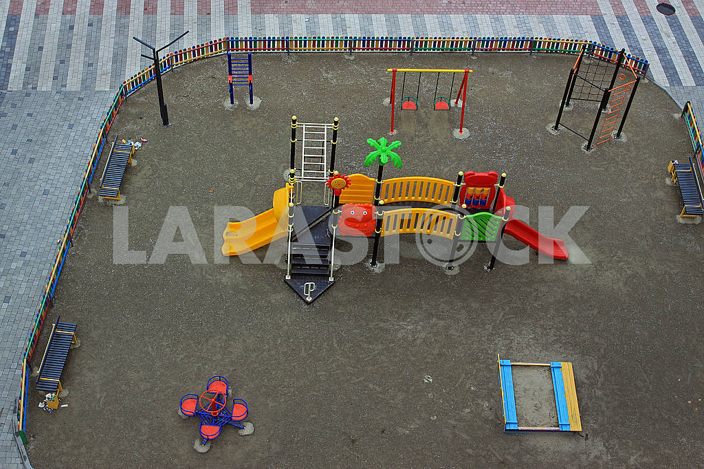 Modern colorful children playground — Image 67923