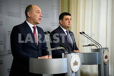 Andrey Parubiy and Vladimir Groisman