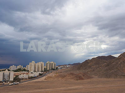 High-rise buildings in Eilat