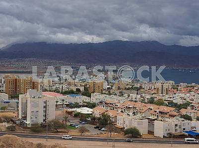 Thundercloud in Eilat, Israel