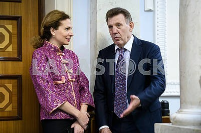 Юлия Левочкина, Сергей Кивалов