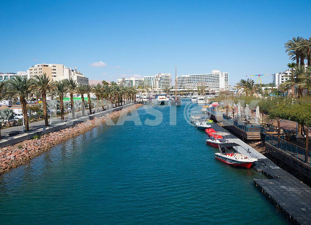 Water channel in Eilat — Image 68022