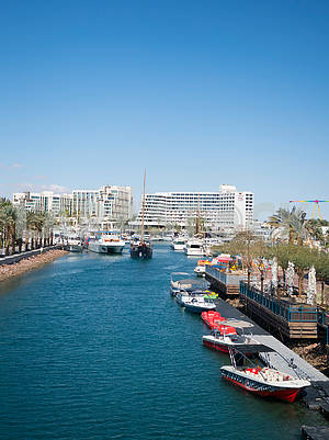 The canal in Eilat