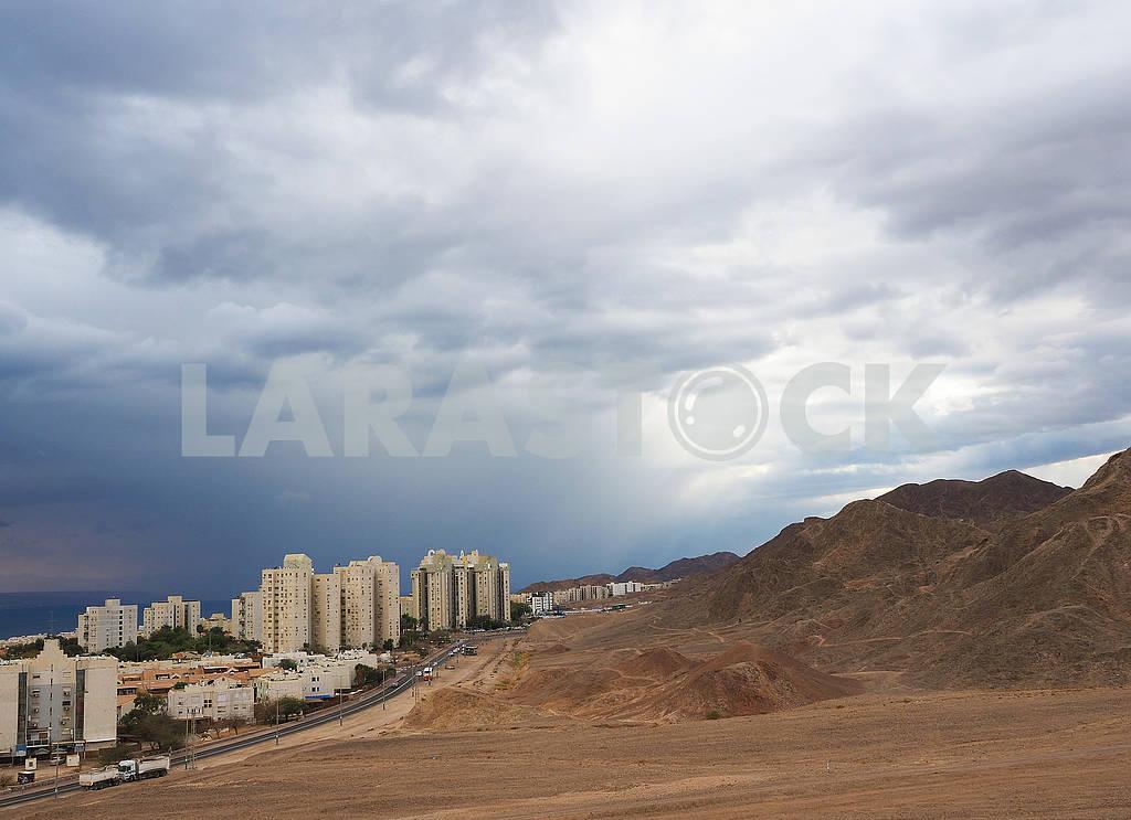 Rain over Eilat — Image 68029