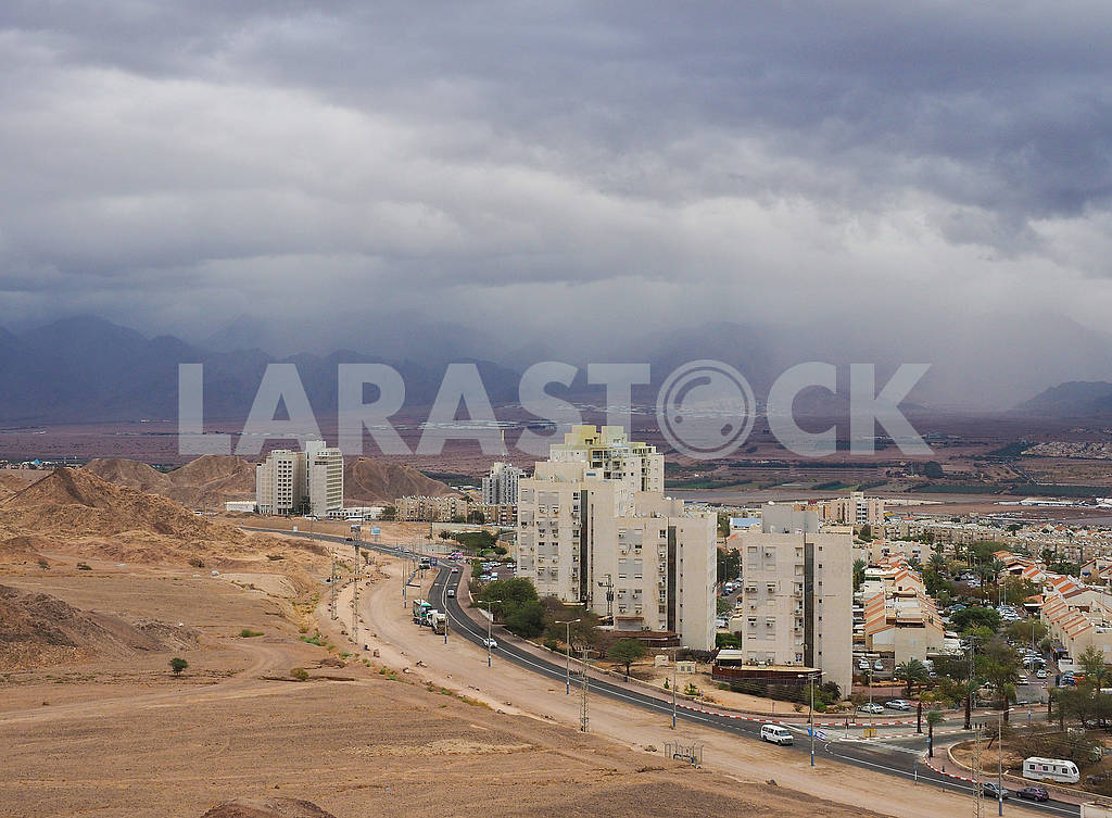 Thunderstorm over Eilat — Image 68030