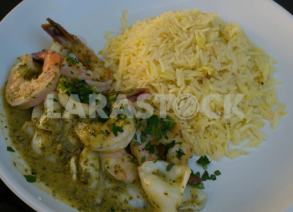 Shrimp and rice — Image 68043