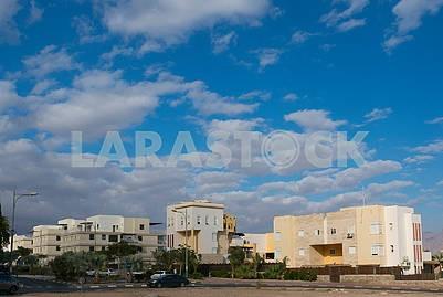 New residential buildings in Eilat