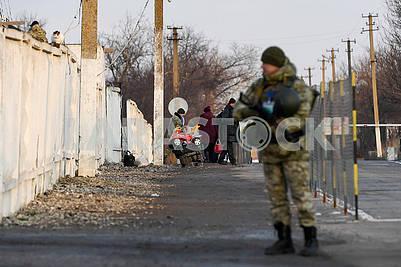 Border guard on the CPVB