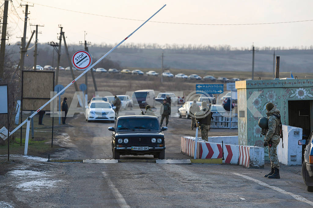 Checkpoint entrance-exit Gnutovo — Image 68180