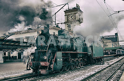 Steam locomotive E 787-46