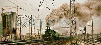 Steam locomotive E 787-46