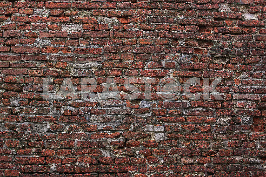 Old red brick wall — Image 68222