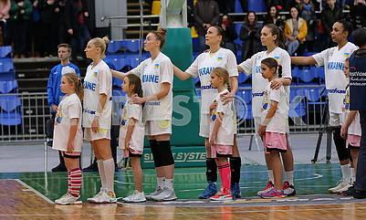 Женская сборная Украиныпо баскетболу