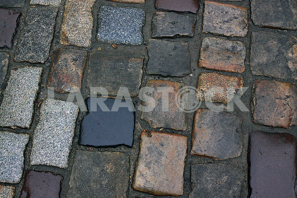 Close-up of the old cobblestones — Image 68283