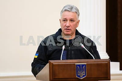 Nikolay Chechetkin, Head of the State Service of Ukraine for Emergencies