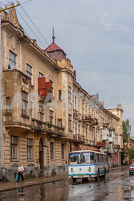 Street in Ivano-Frankivsk