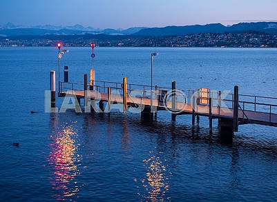 Пирс на Цюрихском озере