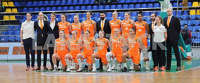 Women's national basketball team of the Netherlands