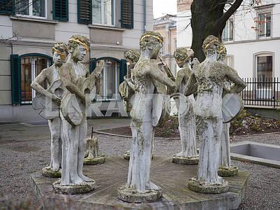 Скульптура в Цюрихе