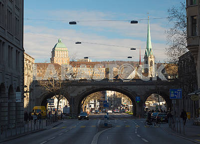 The bridge in Zurich