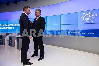 Andrzej Duda and Petro Poroshenko