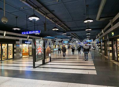 Shopping Center in Zurich