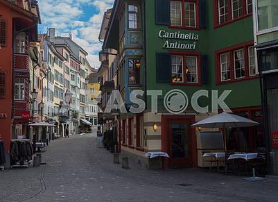 Street in Zurich