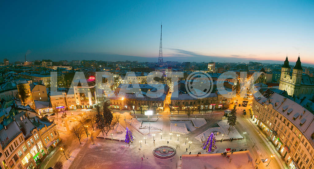 Night view of the Ivano-Frankivsk — Image 68581