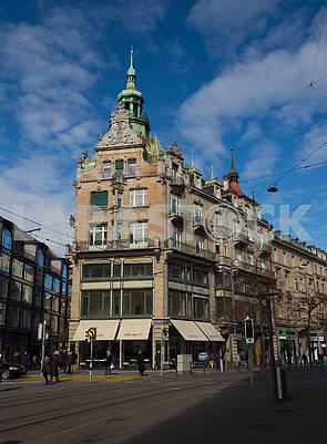 Banhovstraße Street in Zurich