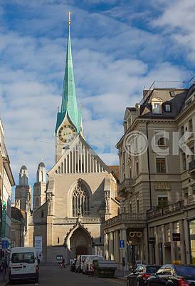 Banhofstrasse in Zurich
