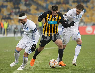 Nikolay Morozyuk, Lazoros Christodoulopoulos, Denis Garmash