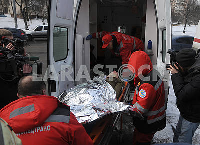 """Rescue services provide assistance to """"victims"""""""