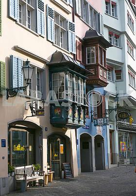 Балконы на Банхофштрассе