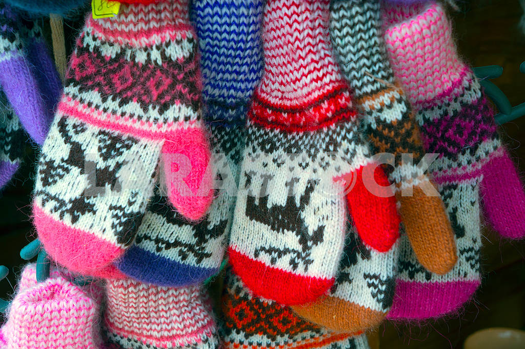Children's mittens for Christmas — Image 68824