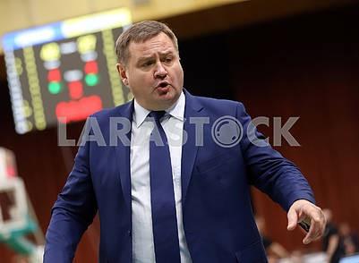 Евгений Мурзин, тренер сборной Украины