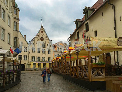 Vienna street in old Tallinn