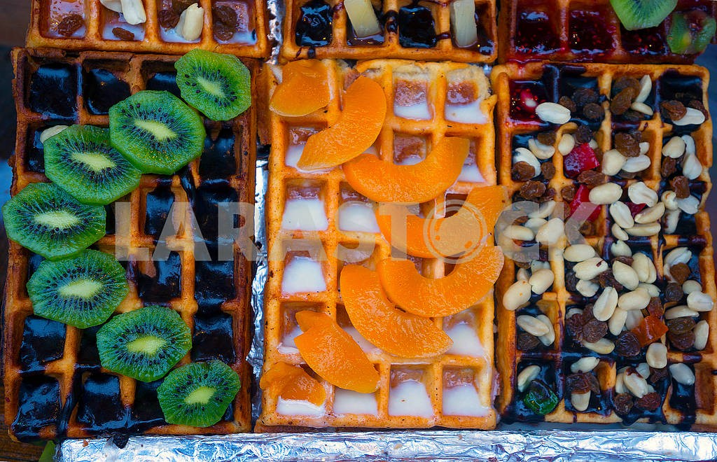 Candied sweet waffles — Image 68944