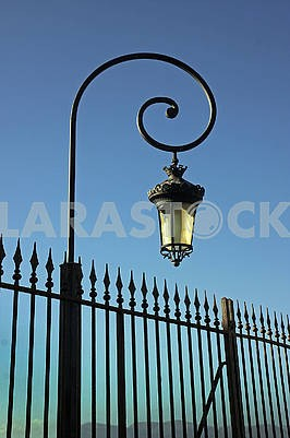 Lantern of street lighting