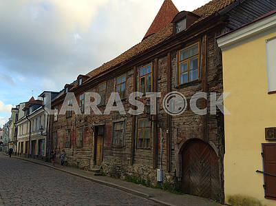 Kesklin Street in Old Tallinn