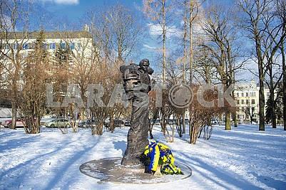 Monument to Taras Shevchenko in Riga