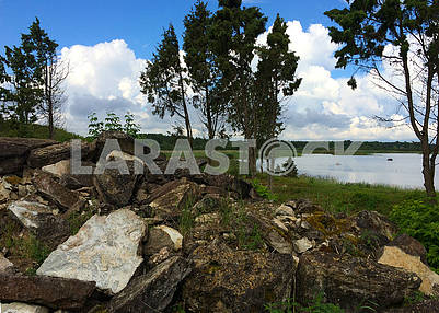 Landscape on the islands of Saaremaa and Muhu